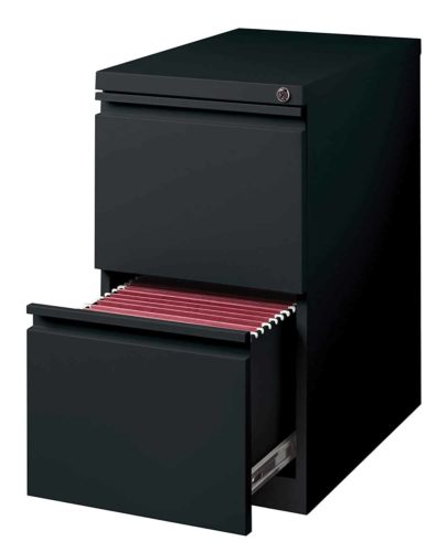 Hirsh Industries 2 Drawer Mobile File Cabinet