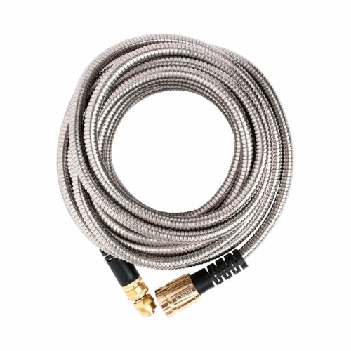 Quality Source Products 50-foot Metal Garden Hose