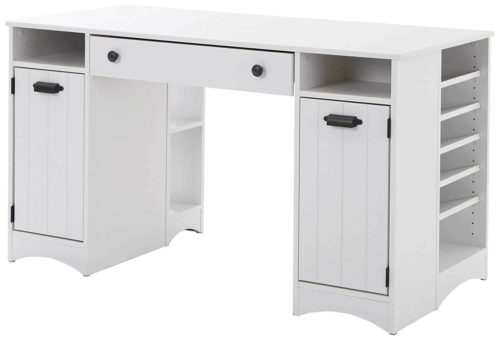 South Shore Artwork Craft Table with Storage
