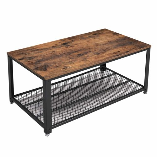 VASAGLE Industrial Coffee Table