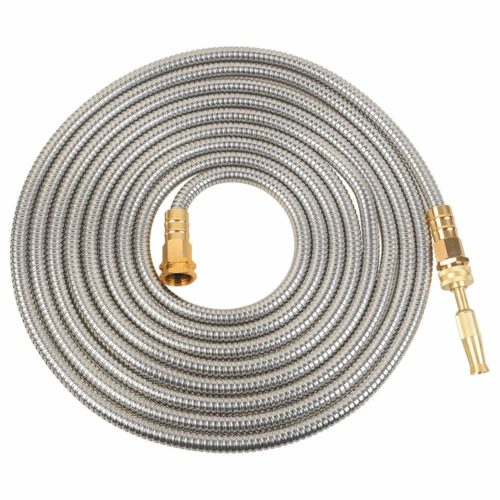 VERAGREEN Stainless Steel Metal Garden Hose