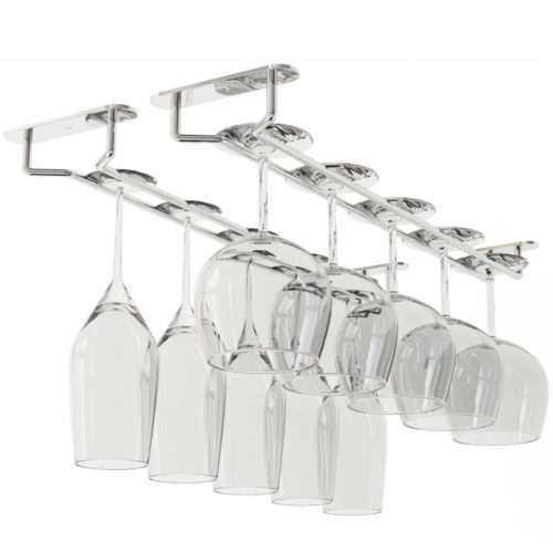 Wallniture Stemware Wine Glass Rack Hanger