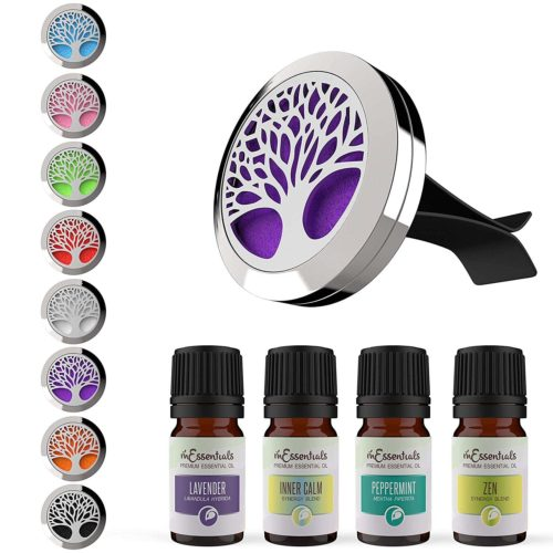mEssentials Tree of Life Car Air Freshener Gift Set