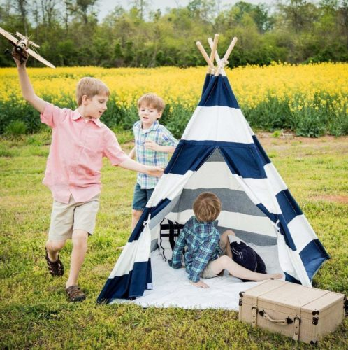 A Mustard Seed Toys Kids Teepee Tent