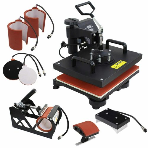 F2C Pro 6-in-1 Combo Heat Press Machine