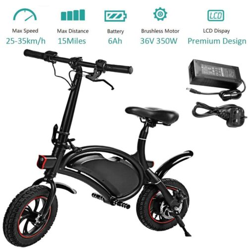 Kepteen Folding Electric Bicycle