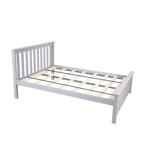 Max & Lily Solid Wood Full-Size Bed