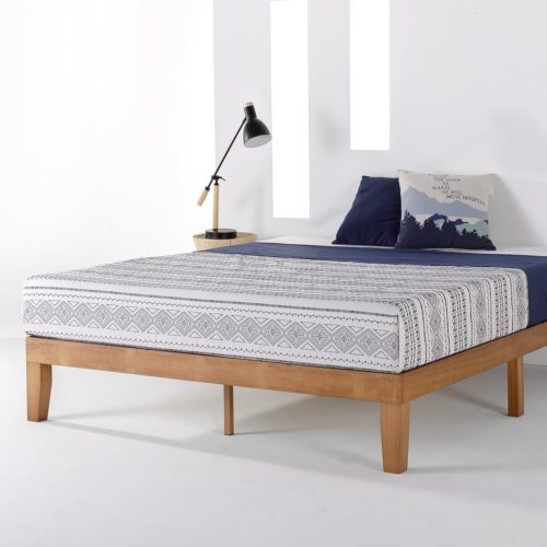 Mellow Classic Solid Wood Platform Bed Frame