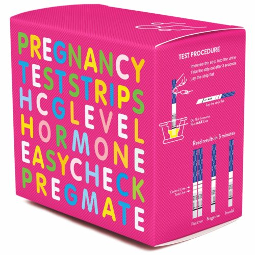 PREGMATE HCG Pregnancy Test Strips