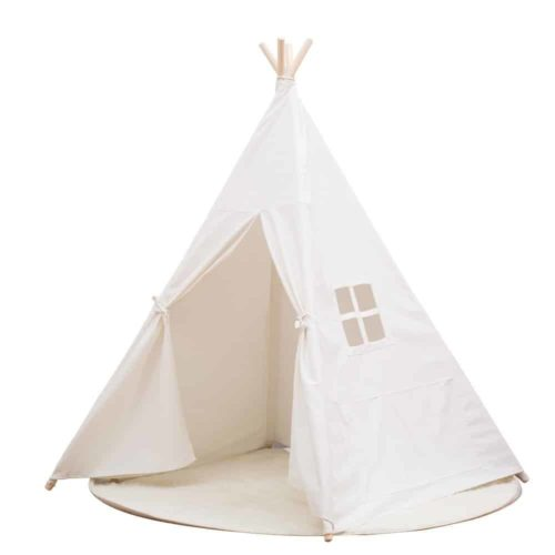 Small Boy Portable Kids Cotton Canvas Play Tent
