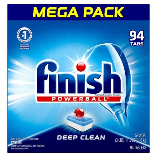Finish All-in-one Dishwasher Detergent