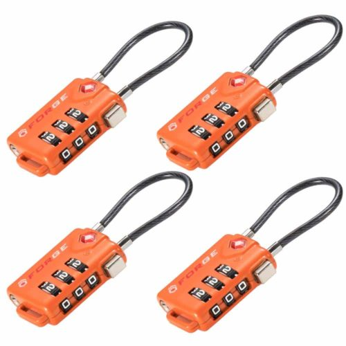 Forge TSA Approved Cable Luggage Locks