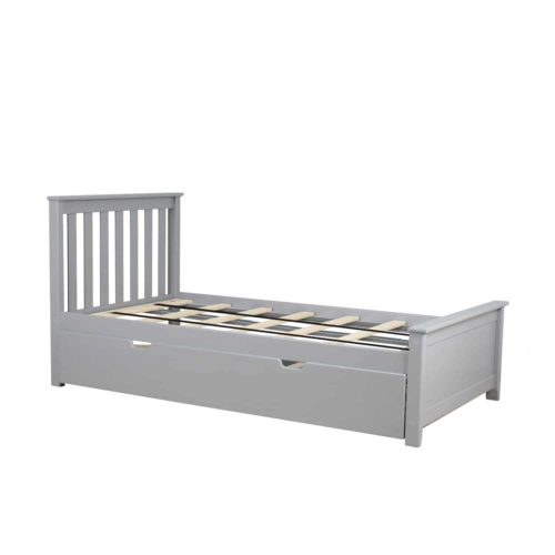 Max & Lily Solid Wood Twin Size Daybed with Trundle Bed
