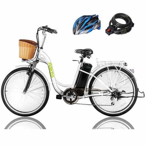NAKTO 250W Cargo Electric Bicycle