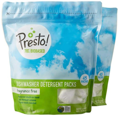 Presto 78% Biobased Dishwasher Detergent