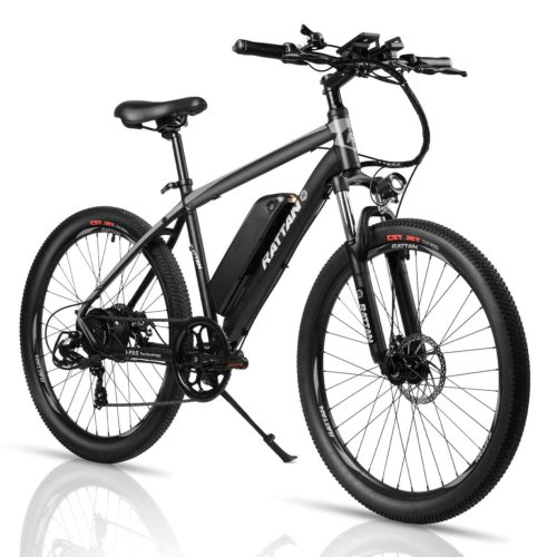 Rattan 26 Inch Electric Mountain Bicycle