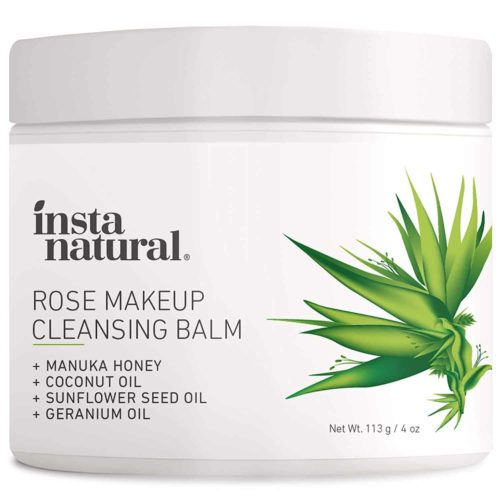 Rose Cleansing Balm Makeup Remover