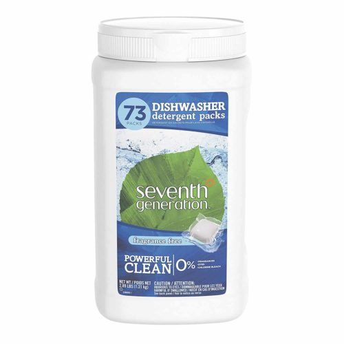Seventh Generation Dishwasher Detergent Packs