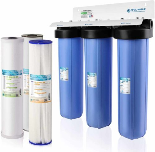 APEC 3-Stage Whole House Water Filter System