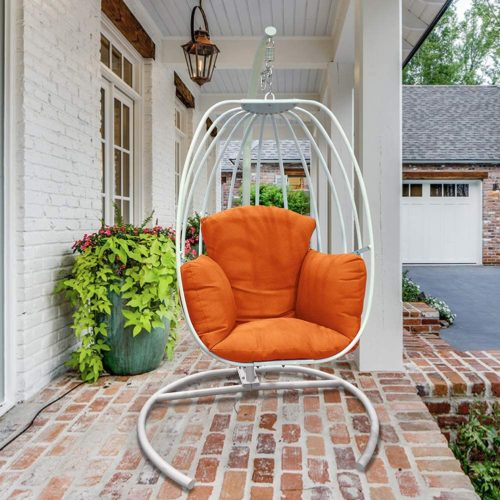 ART TO REAL Outdoor Wicker Egg Hanging Chair
