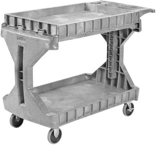 Akro-Mils 30936 2 Shelf Plastic Utility and Service ProCart