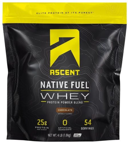 Ascent Native Fuel Whey Protein Powder – Chocolate