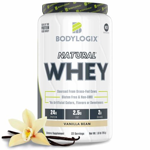 Bodylogix Natural Grass-Fed Whey Protein Powder