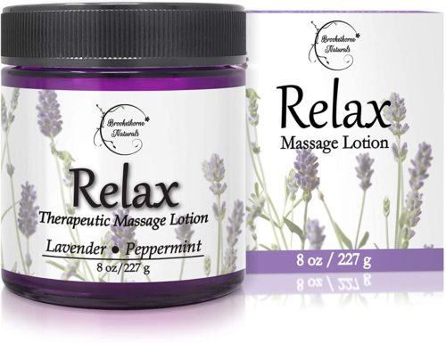 Brookethorne Naturals Relax Therapeutic Massage Lotion