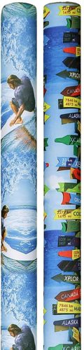 Designer Noodle Pool Noodles - Surfer Curl and Beach Signs
