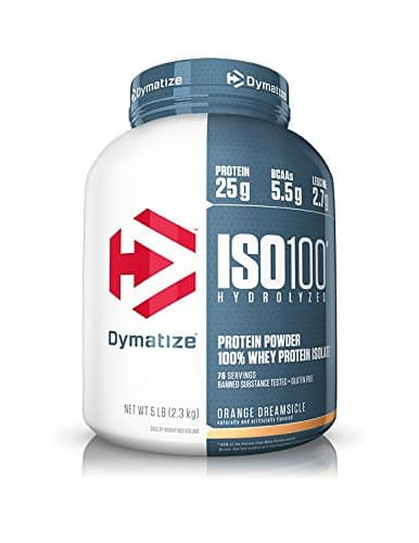 Dynamatize ISO100 Hydrolyzed Whey Protein Powder