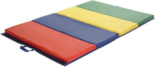ECR4Kids SoftZone 4-Section Folding Panel Tumbling Exercise Mat