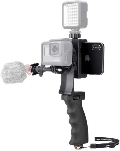 Fantaseal 2in1 Portable Action Camera+Smartphone SYN Stabilizer