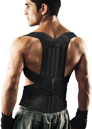 Fitsupport Back Brace Posture Corrector for Women and Men