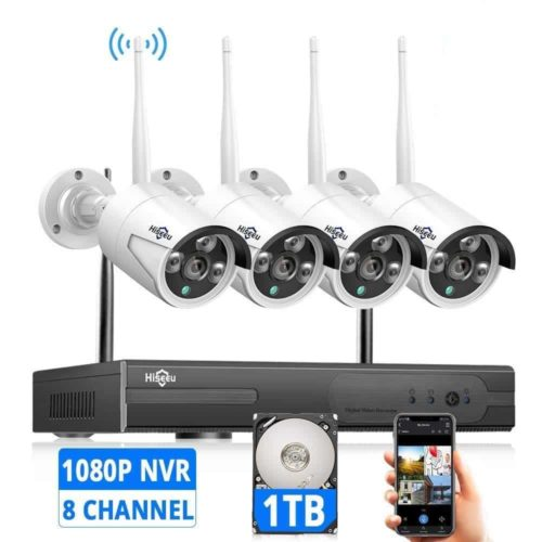 Hiseeu Wireless Security Camera System