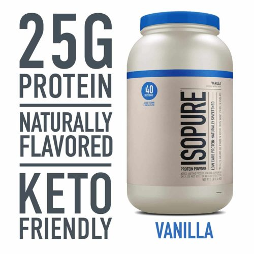 Isopure Naturally Flavored Whey Protein Isolate