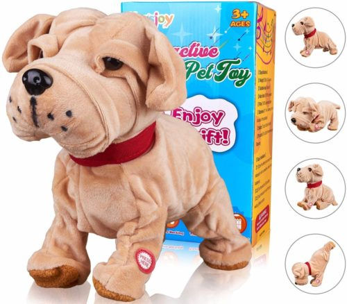 Marsjoy Bulldog Robot Toy Dog