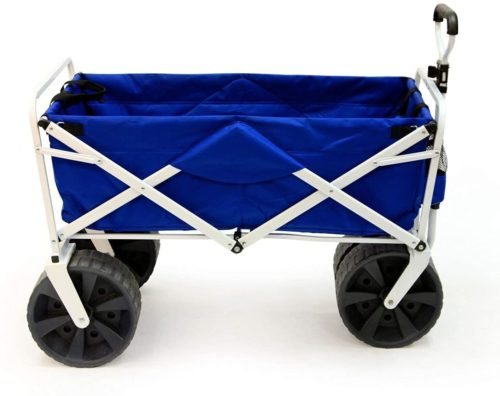Meda Collapsible Folding All Terrain Utility Beach Wagon