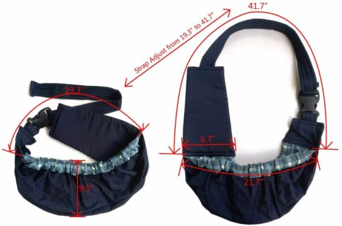 OrgMemory Pet Sling Carrier