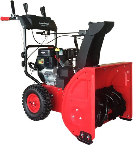 PowerSmart DB7651BS-24 2-Stage Briggs & Stratton Gas Snow Blower