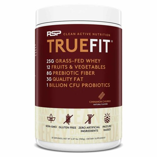 RSP TrueFit All-Natural Whey Powder with Fiber