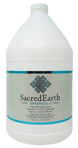 Sacred Earth Botanicals Vegan Massage Lotion