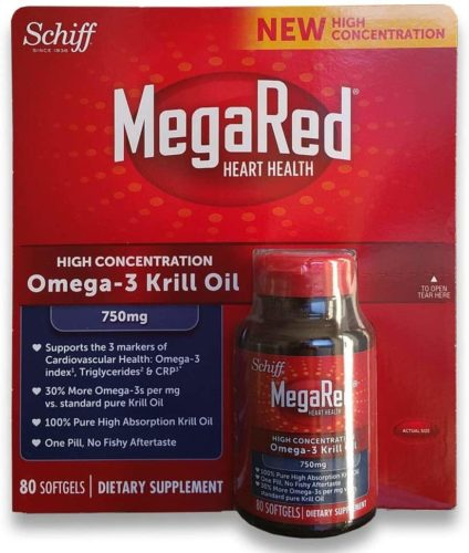 Schiff MegaRed Krill Oil High Concentration