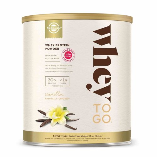 Solgar-Whey to Go Protein Powder