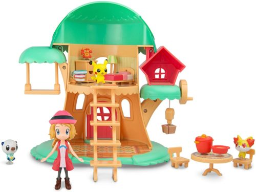 TOMY Pokémon Petite Pals Kids Playset - Escape In the Forest