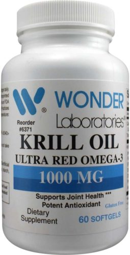 Wonder Laboratories Krill Oil 1 with Omega-3 and Astaxanthin