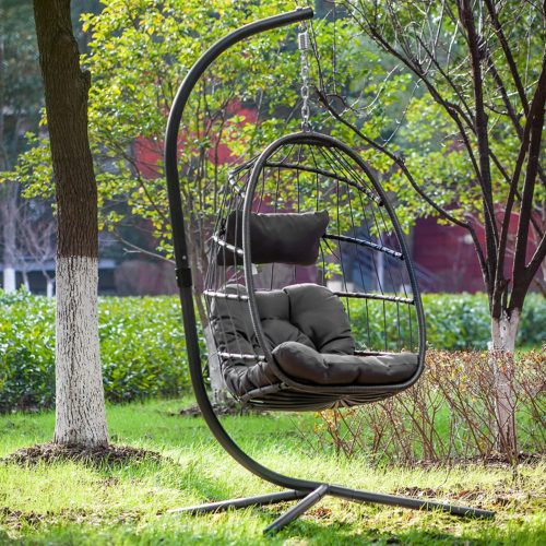 YeSea Egg Chair Aluminum Frame Swing Chair