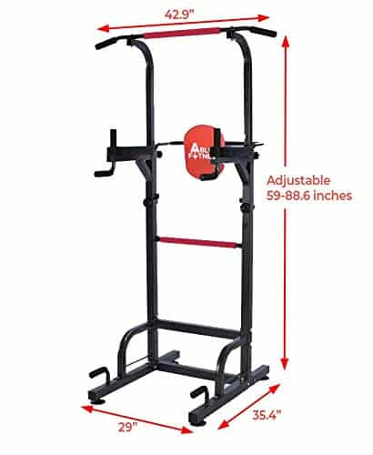 AbleFitness Dip Station Chin-up Bar Power Tower