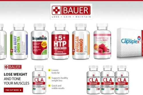 BAUER Weight Loss Pills