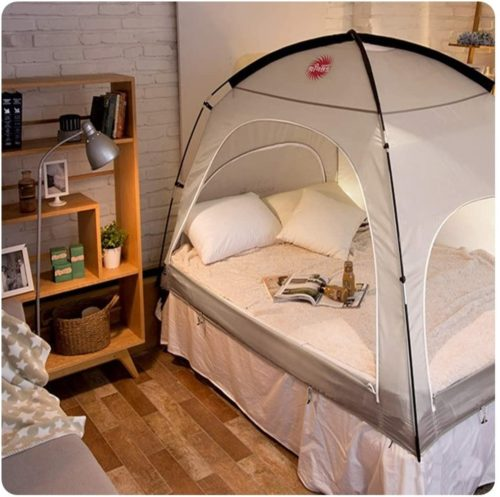 DDASUMI Warm Tent for Double Bed (Without Floor)