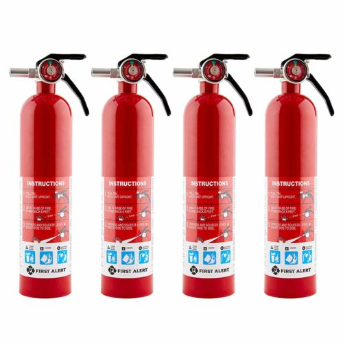 First Alert Home Fire Extinguisher-4Pk